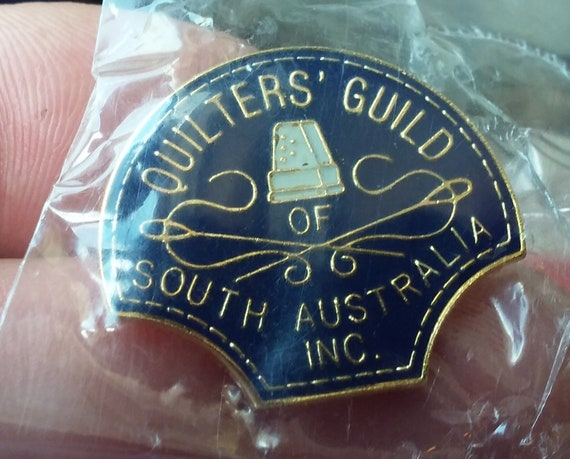 Quilters' Guild of South Australia Inc. Lapel pin