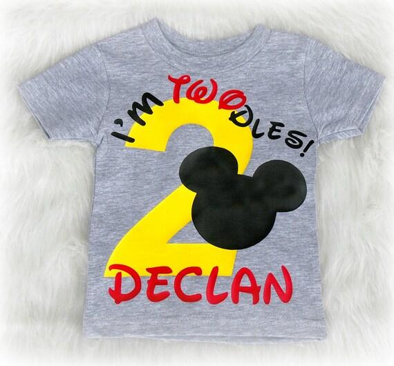 Im Twodles Second Birthday Shirt For Boys