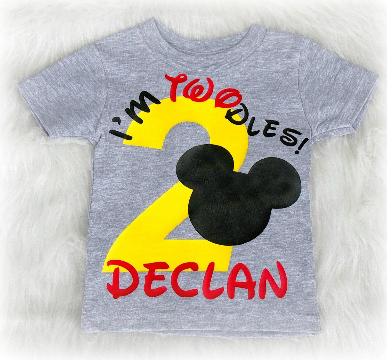 c897d0f76cb I m twodles Second birthday shirt for boys I m