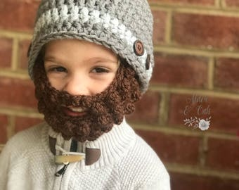 Baby beard beanie (Baby beard hat) (beard beanie) Customizable colors! 8dead8faac7