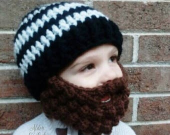 Baby beard beanie (Baby beard hat) (beard beanie) Customizable colors! 4cde71469126