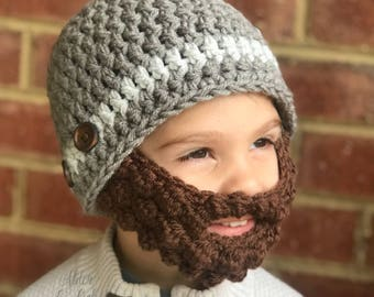 Baby beard beanie (Baby beard hat) (beard beanie) Customizable colors! 2adcef23608