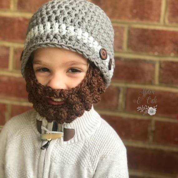 10% OFF with codeTHANKYOU2019 Baby beard beanie  051e6ac868d