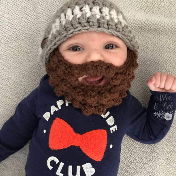 10% OFF with codeTHANKYOU2019 Baby beard beanie  12677f9891f