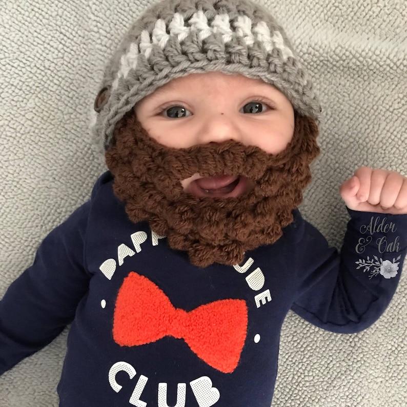 58215308583 10% OFF with codeTHANKYOU2019 Baby beard beanie