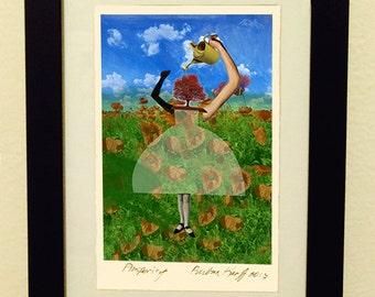 Framed Giclée Fine Art Print, Prosperity