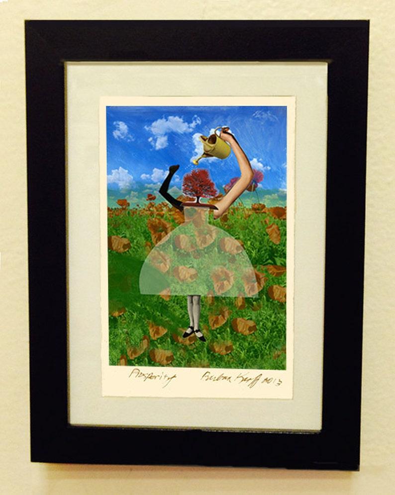 Framed Giclée Fine Art Print Prosperity image 1