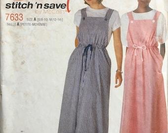 Vintage UNCUT Stitch/'n Save 7633 Sewing Pattern