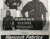 Hancock Fabrics Appliqué Pattern (Vintage) UNCUT