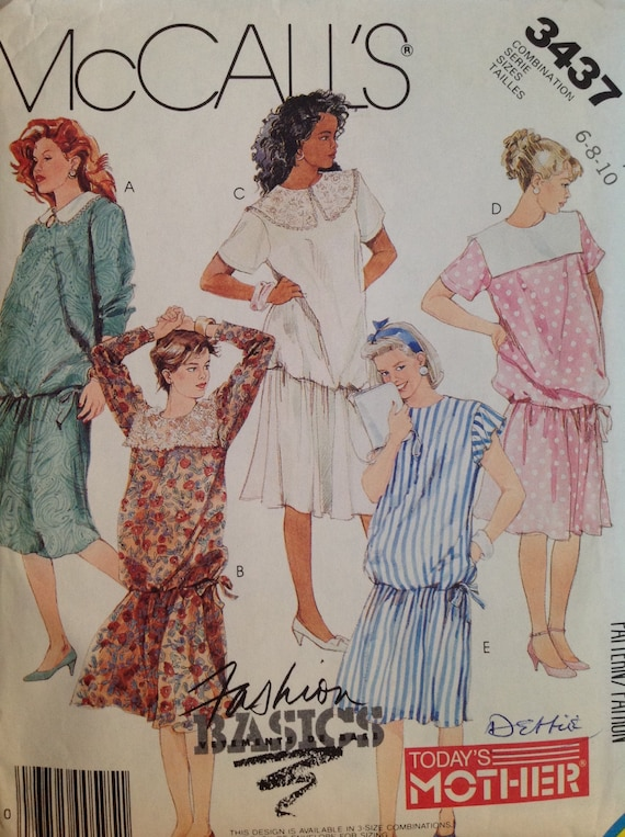 UNCUT McCall/'s 3790 Sewing Pattern Vintage