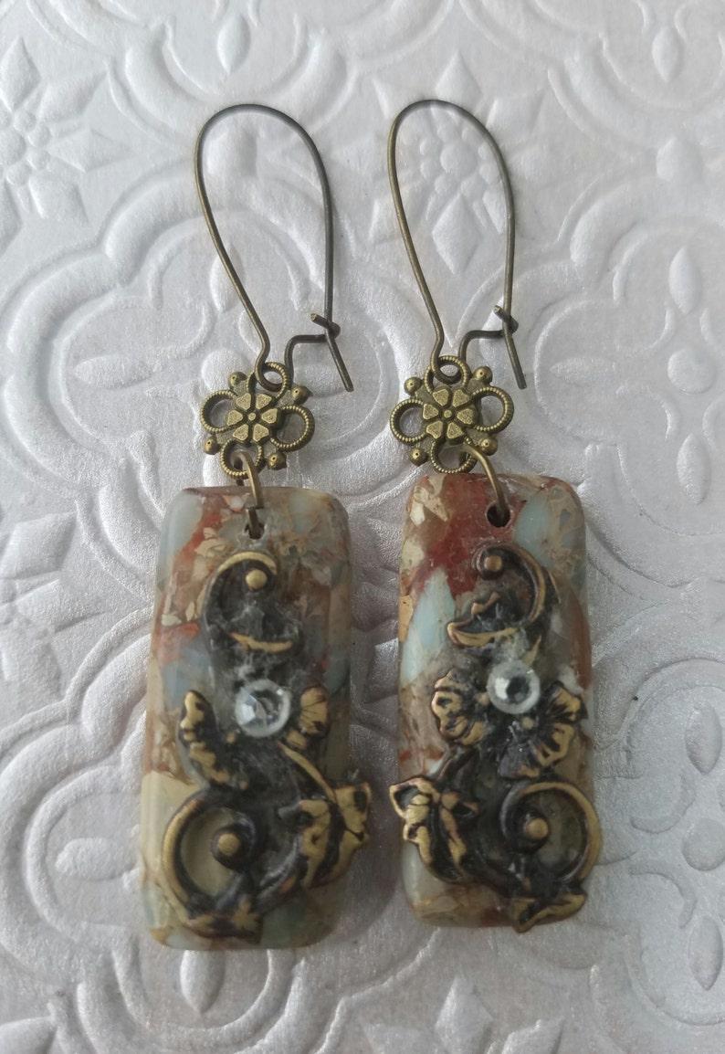 Agate Necklace /& Earrings Set