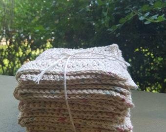 Large Bespeckled Washcloths