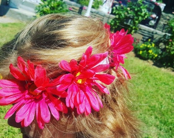 Floral Daisy Crown/ Sorority rush/big little/ customizable crowns