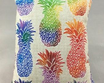 Neon Pineapple Display Pillow, Medium