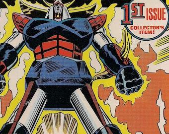Marvel Comics,SHOGUN WARRIORS 1,KAIJU Monsters,Giant Robo Mecha,Dangard Ace,Raydeen,Mattel Toys Inc. Die-Cast Transformer type,Pacific Rim