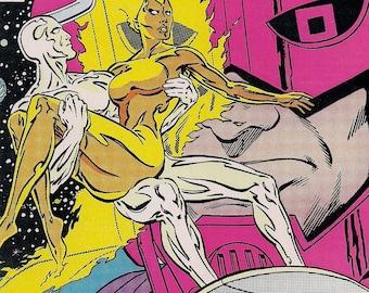 Marvel Comics,The SILVER SURFER (Vol. 3) #1,Steve Englehart,Marshall Rogers,Avengers,Silver Surfer,Galactus,Fantastic Four,mcu