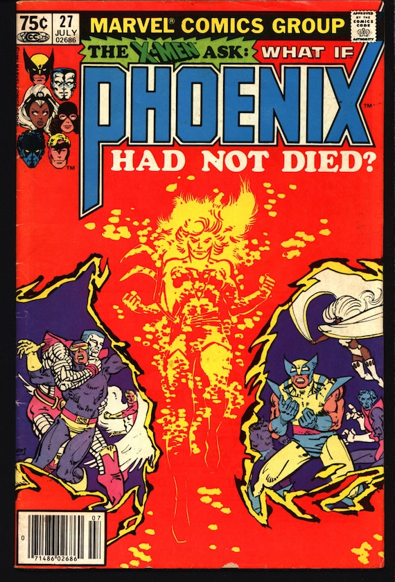 WHAT IF 27 PHOENIX Had Not Died X-Men Wolverine Cyclops Storm   Etsy