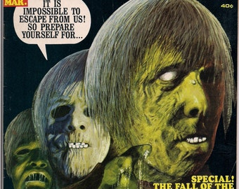 EERIE # 20 1968 Horror Comic Magazine Warren Pub Reed Crandall Edgar Allan Poe The Fall Of The House Of Usher John Severin