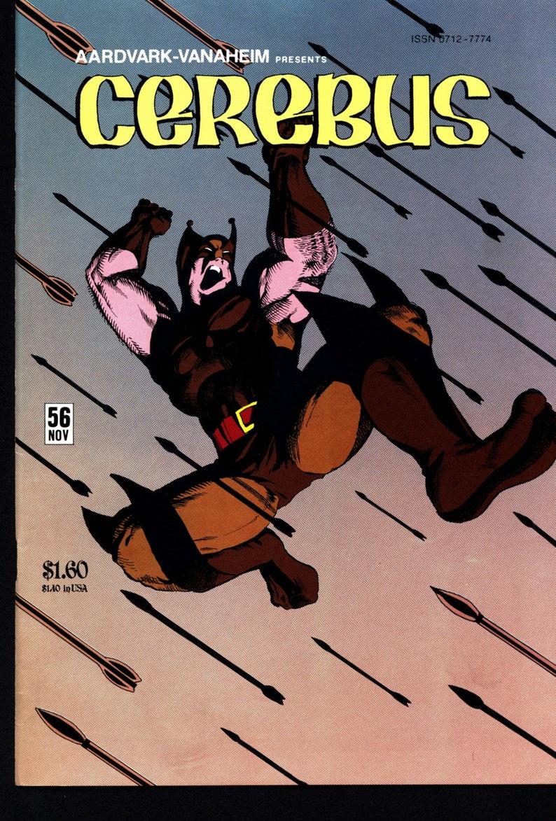 CEREBUS the Aardvark #56 Dave Sim WOLVEROACH Aardvark-Vanaheim Fan Favorite  Cult Self Published Alternative Comic Book Parody
