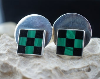 Royal Lion Cufflinks Pony Horse Lover Chess Board Player Square