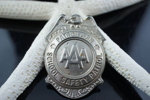 Art Deco Jewelry Brooch School Safety Patrol Patro