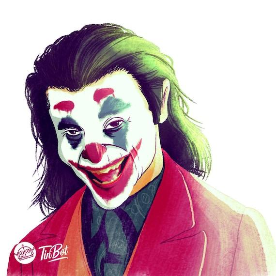 Arthur Fleck , The Joker digital art character card