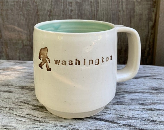Sasquatch Mug, Washington Mug,