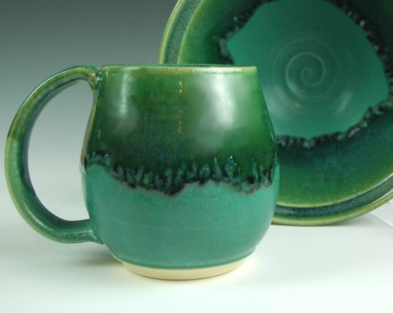 Green on Green Northwest Mug