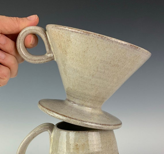 Coffee Pour Over, Handcrafted Pottery Pour Over