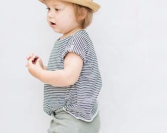 Baby Tee, Modern Baby Clothing, black and white Tee, Unisex tee