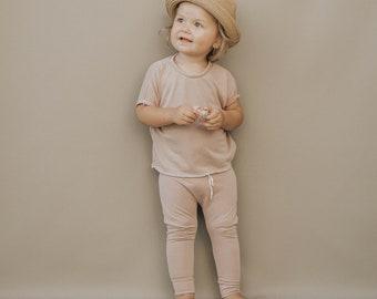 Baby Harem Pants, Blush Pink pants, Baby pants