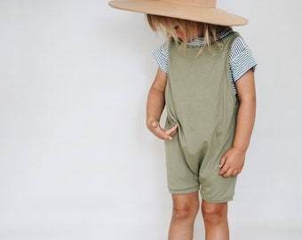 Olive Overalls, Summer Playsuit