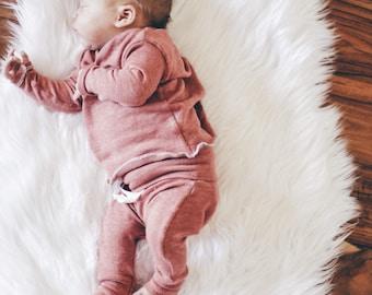 Baby Unisex shirt and pants set, Harem pants, Long sleeve tee, Modern cothes, Himalayan Set