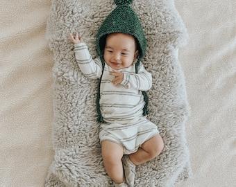 Baby Sweatshirt and shorts set, Oversized sweater and shorties , Plush set, Vintage Stripe Set, Modern clothes