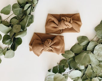 Camel  Knotted Headband, Camel Baby Headband, Kids Turban Headwrap, Bow Headband