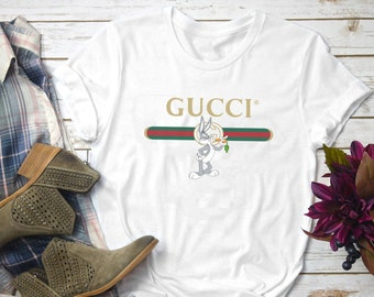9e57f12a2f0 More colours. Gucci Shirt Bugs Bunny ...
