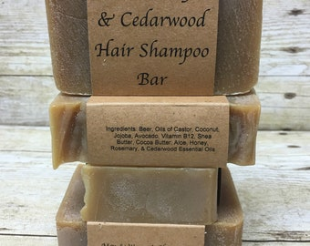 Rosemary & Cedarwood Hair Shampoo Bar