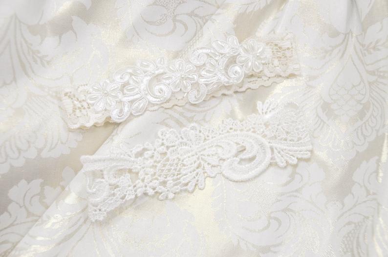 ON SALE Wedding Garter Tossing Garter,Keepsake Garter,bridal garter Ivory lace Vintage Lace garter,-BLh7#