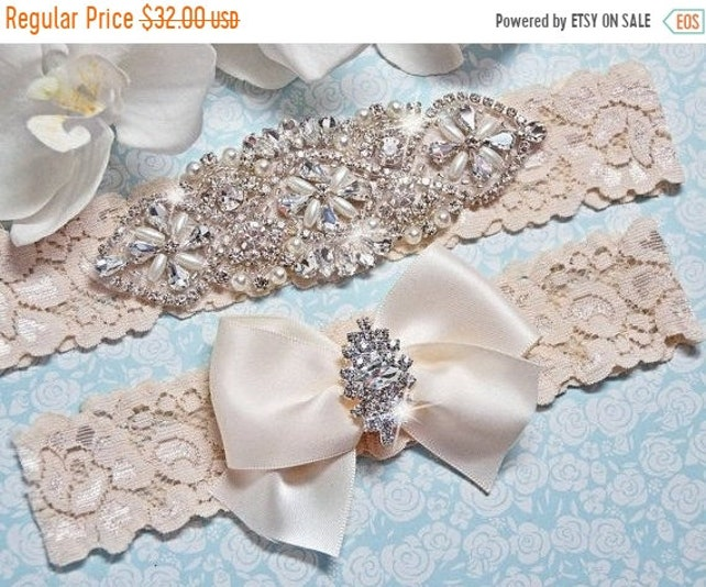 3d9a1556741 ON SALE Wedding Garter