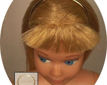 Gold *Silk /& Fancy* Headband Made For TNT Twist And Turn Skipper *REPRODUCTION*