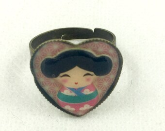 Adjustable Bronze ring