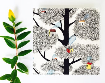SILENCE tree card