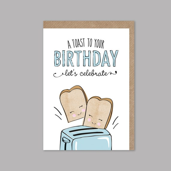 Funny Birthday Card Pun Happy For