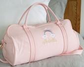 Personalised Bag Duffle Bag Children Gifts Monogrammed Weekender Bags Baby Bag Hospital Bag Personalized Gift