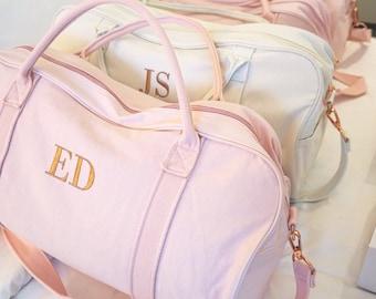 Personalised Bag / Duffle Bag / Baby Bag / Monogrammed Weekender Bags / Hospital Bag / Gracie Duffle Bag