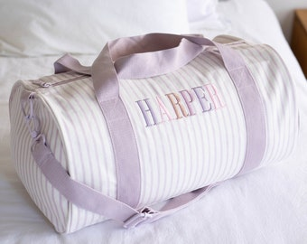 Children Personalised Bag /Duffle Bag/Children Gifts/Monogrammed Weekender Bags/Baby Bag/Hospital Bag /Personalized Gift/ Overnight Bebe Bag