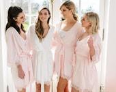 Lace Bridal Robe // Bridesmaid Robes // Robe // Bridal Robe // Bride Robe // Bridal Party Robes // Bridesmaid Gifts // Josie