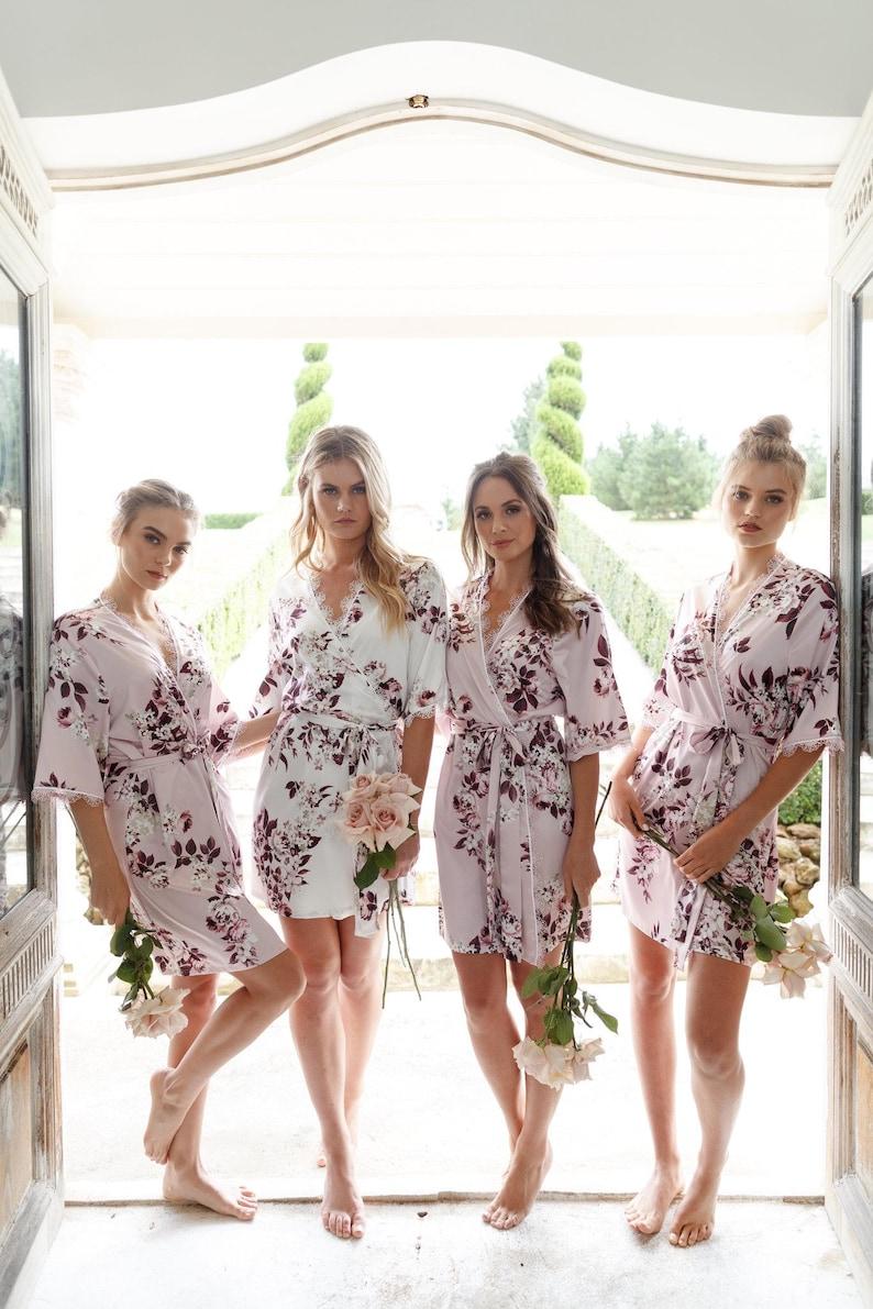 Bridesmaid Robes / Bridal Robe / Bridesmaid Gift / Robe / Blush Pink
