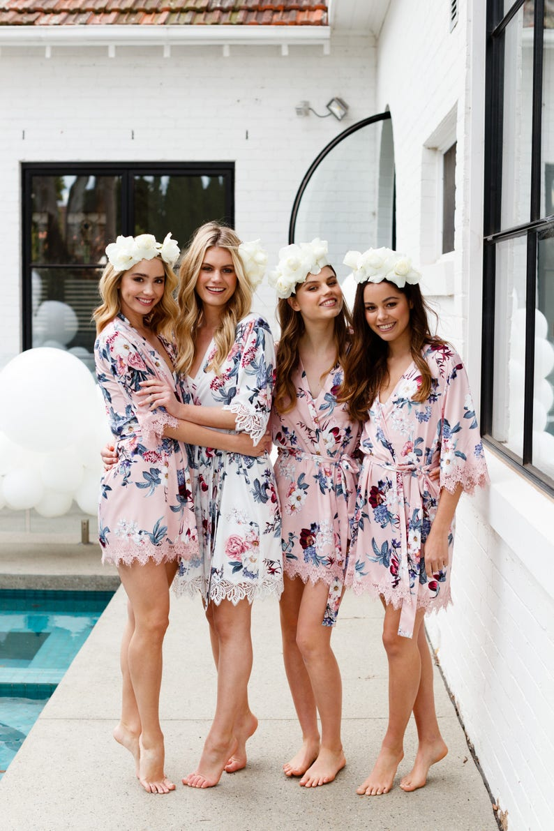 Bridesmaid Robes // Robe // Bridal Robe // Bride Robe // image 0