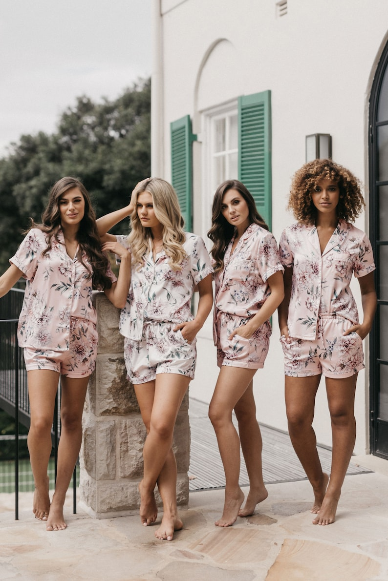 Bridesmaid pajamas / Bridesmaid PJs / Bridesmaid Gift / image 0